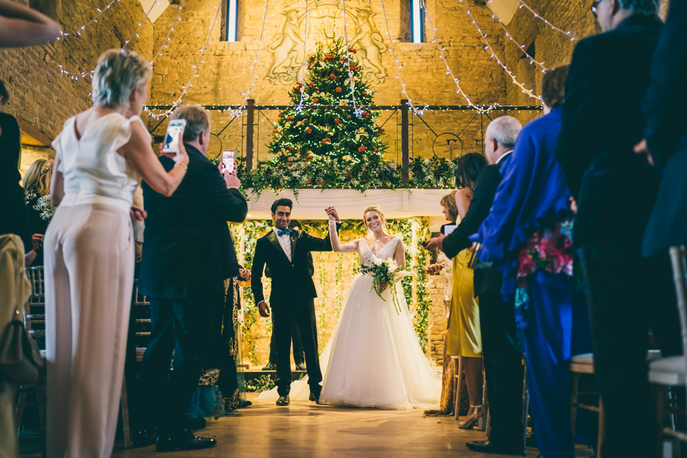Winter Wedding at The Great Tythe Barn